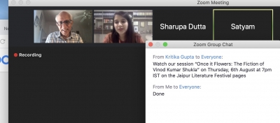 Satti Khanna speaks with writer and translator Mohini Gupta
